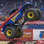 Joey Parnell - Superman - Greensboro Monster Jam 2013