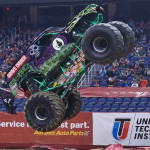 Randy Brown - Grave Digger - Greensboro Monster Jam 2013