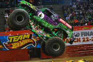 Randy Brown - Grave Digger - Milwaukee Monster Jam 2013