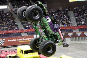 Randy Brown - Grave Digger - Monster Jam 2013